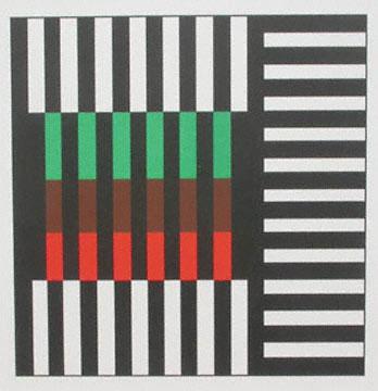 """Jules EngelGeranium Pot color lithograph6 7/8 x 7""""2000"""