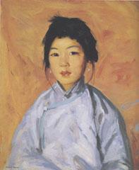 Robert HenriTam Ganoil on canvas1914