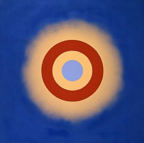 Kenneth Noland Mysteries: Wild Heart acrylic on canvas 48 x 48 inches 2000