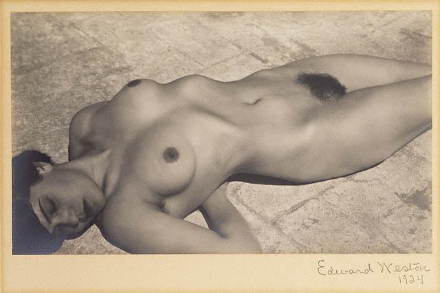 Edward WestonNude, Mexicogelatin silver print19249 5/16 x 5 3/8 inches